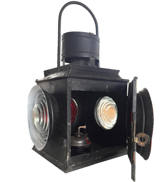 Reclaimed Tin Vintage Carriage Lantern