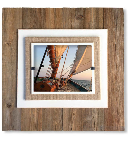 Large Wall Photo Frame. These Beach Frames are perfect for Wedding, Housewarming or Holiday Gifts. Hang Beautiful Memories in these Wall Photo Frames. USA Made.