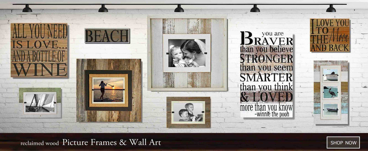 Wood Beach Frames