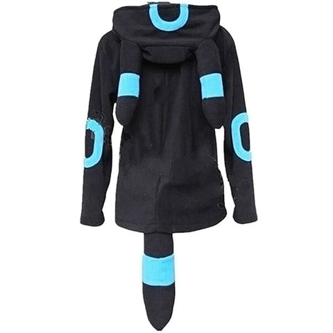 Pokemon Shiny Umbreon Zip Hoodie
