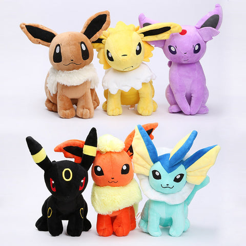 "Pokemon Eeveelutoion 8"" Plush Doll"