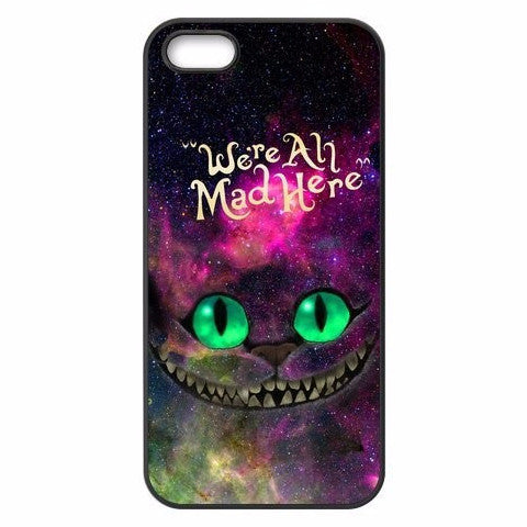 Alice in Wonderland Cheshire Cat iPhone Plastic Case