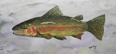 "Arkansas Trout - 14""x10"""
