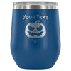 Personalized Pumpkin Wine Tumbler