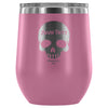 Personalized Skull Wine Tumbler