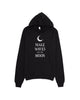 Make Waves Like The Moon Pullover Hoodie