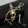 skeleton key chain, Porte-clés squelette