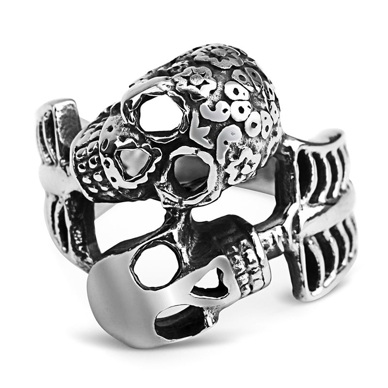 dual skeleton ring