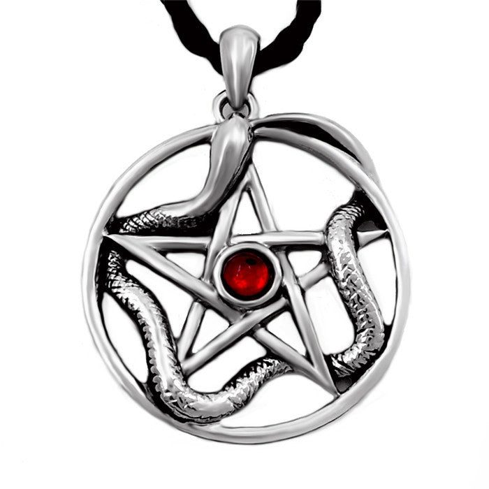 Serpent Of Protection Pendant