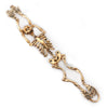 skeleton bracelet gold