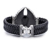 Voltaic Skull Leather Bracelet