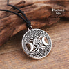 Celtic Moon Pentacle, Tree of life pentacle