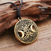 tree of life pentacle, wicca pentacle, wicca pendant