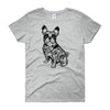 French Bulldog T-Shirt Women's