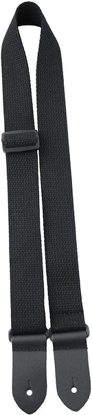 Perri's Black Cotton Ukulele Strap