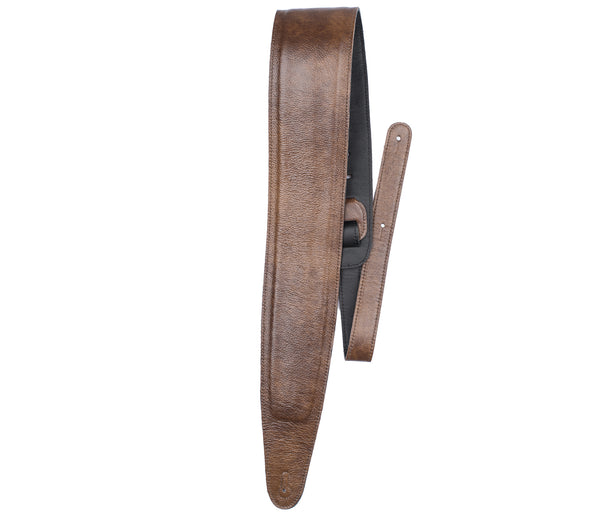 Perri's Tan Padded Leather Guitar Strap