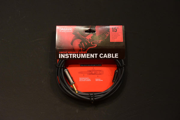 D'Addario Planet Waves Instrument Cable 15 ft