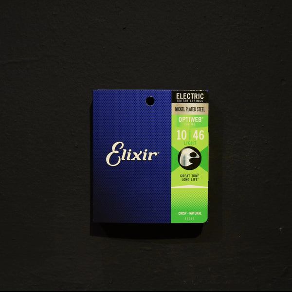 Elixir®Strings Electric Nickel Plated Steel with Optiweb Coating 10/46 Light