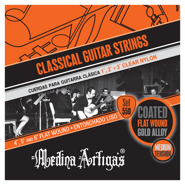 Medina Artigas Cantata Classical Strings | Set 550 Medium Tension