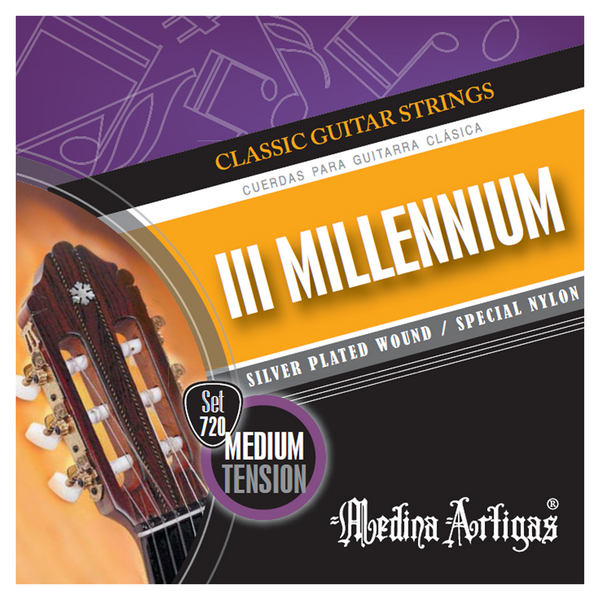Medina Artigas III Millenium Classical Strings | Set 720 Medium Tension