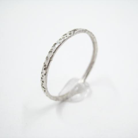 Hammered Ring | Dots