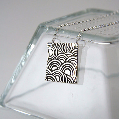 Square Sunset Necklace