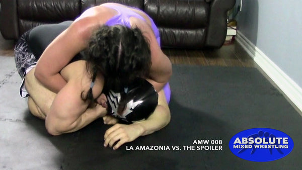 La Amazonia The Spoiler competitive submission intergender apartment Absolute Mixed Wrestling