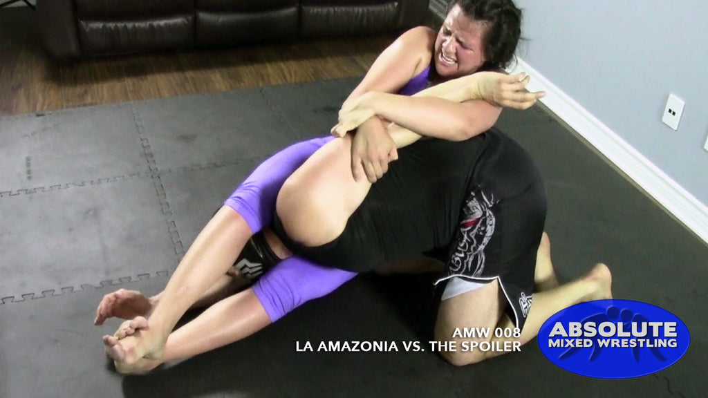 La Amazonia The Spoiler competitive submission intergender apartment Absolute Mixed Wrestling headscissor