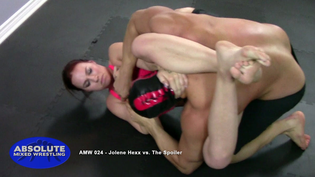 Jolene Hexx The Spoiler competitive submission apartment Absolute Mixed Wrestling