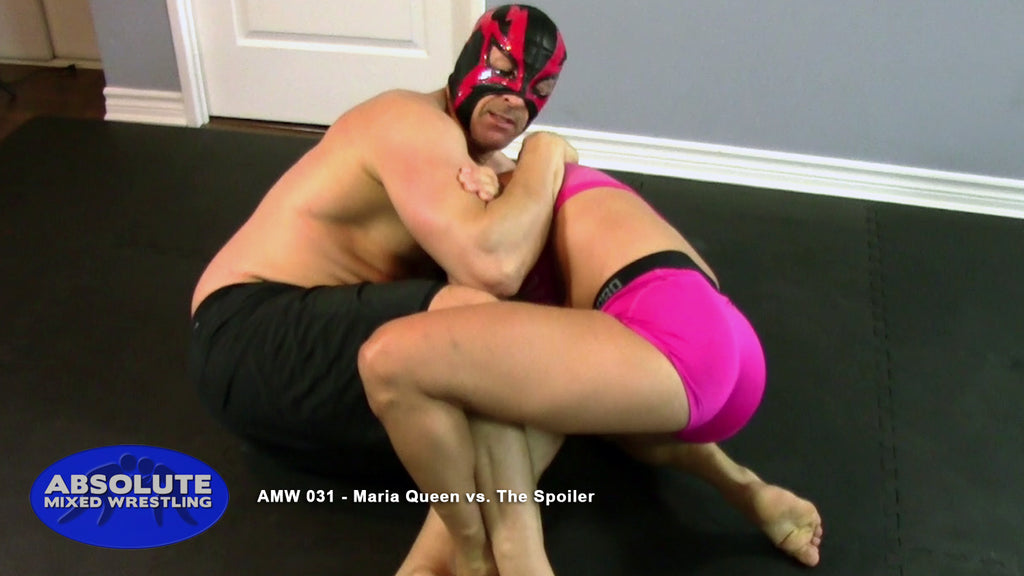 The Spoiler Maria Queen male vs female real competitive apartment Absolute Mixed Wrestling