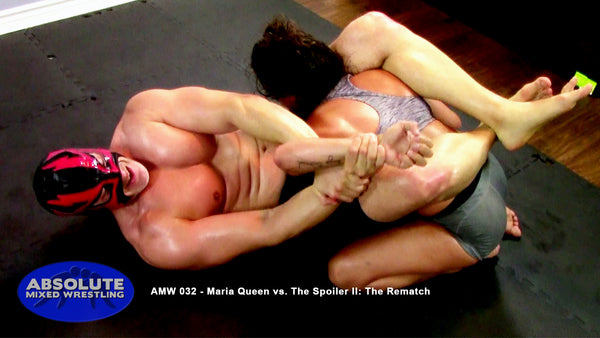 AMW 032 - Maria Queen vs. The Spoiler II: The Rematch