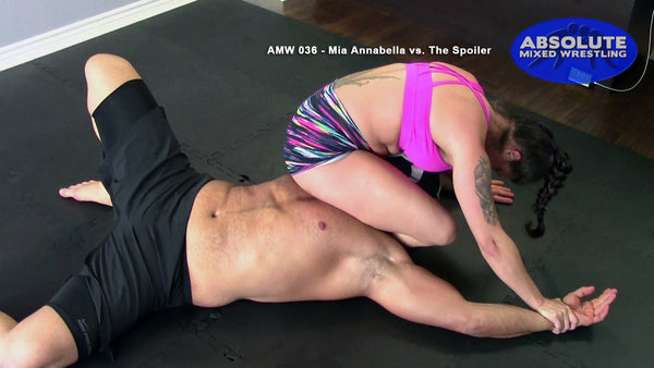 AMW036 - Mia Annabella vs. The Spoiler