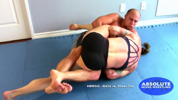 Nikita vs Shawn Fox Absolute mixed wrestling