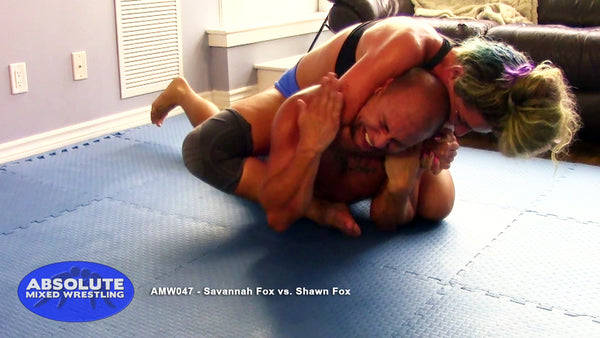 AMW047 - Savannah Fox vs. Shawn Fox