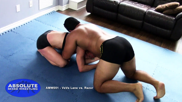 AMW051 - VeVe Lane vs. Razor