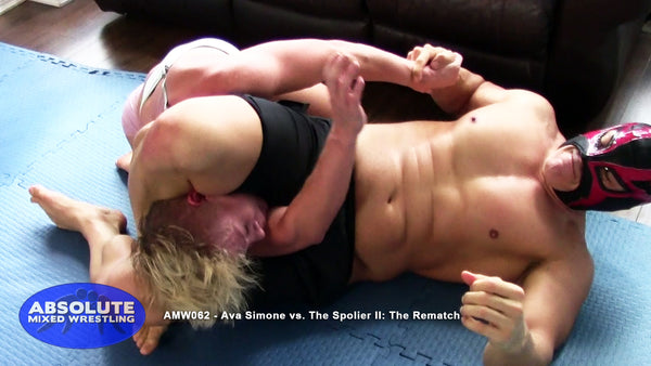 AMW062 - Ava Simone vs. The Spoiler II: The Rematch