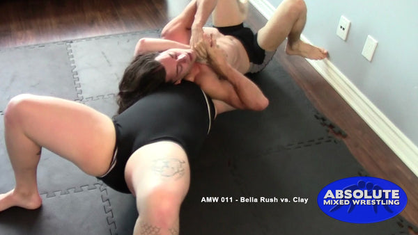 AMW 011 - Bella Rush vs. Clay