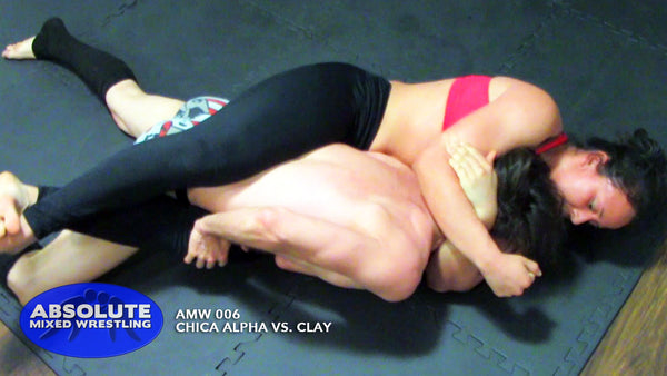 Chica Alpha bodyscissors body-scissors Clay competitive Absolute Mixed Wrestling