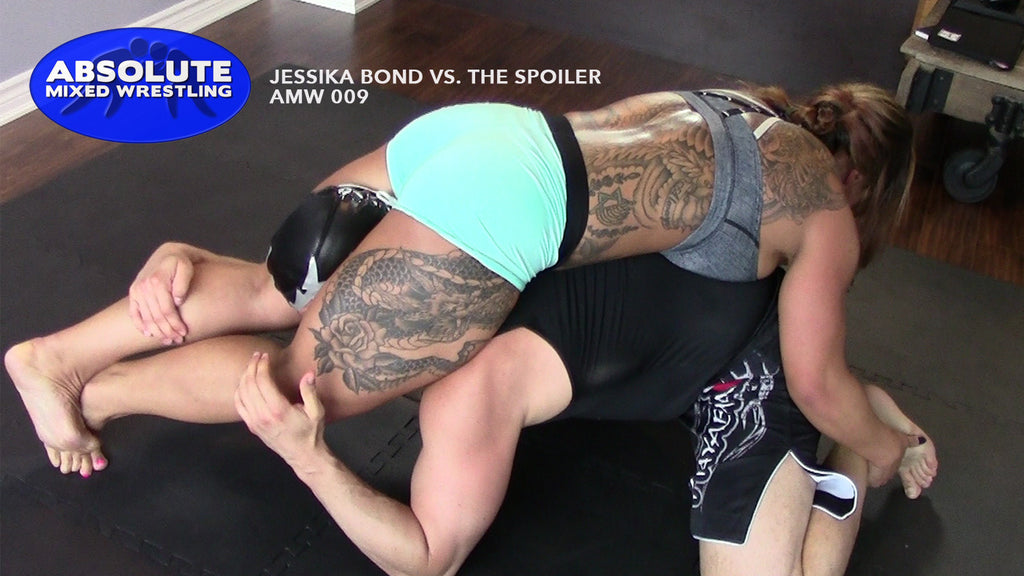 Jessika Bond headscissors head-scissors The Spoiler competitive Absolute Mixed Wrestling