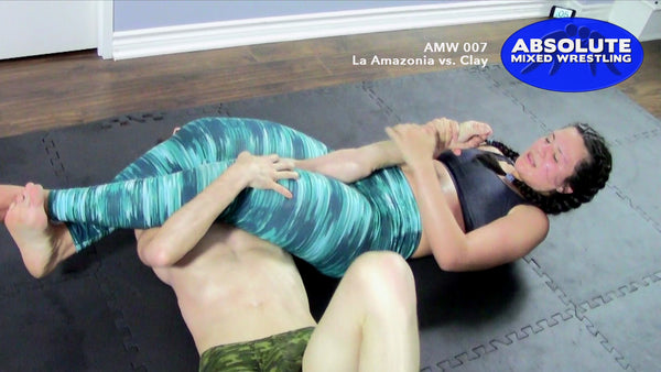 La Amazonia arm-bar Clay competitive Absolute Mixed Wrestling