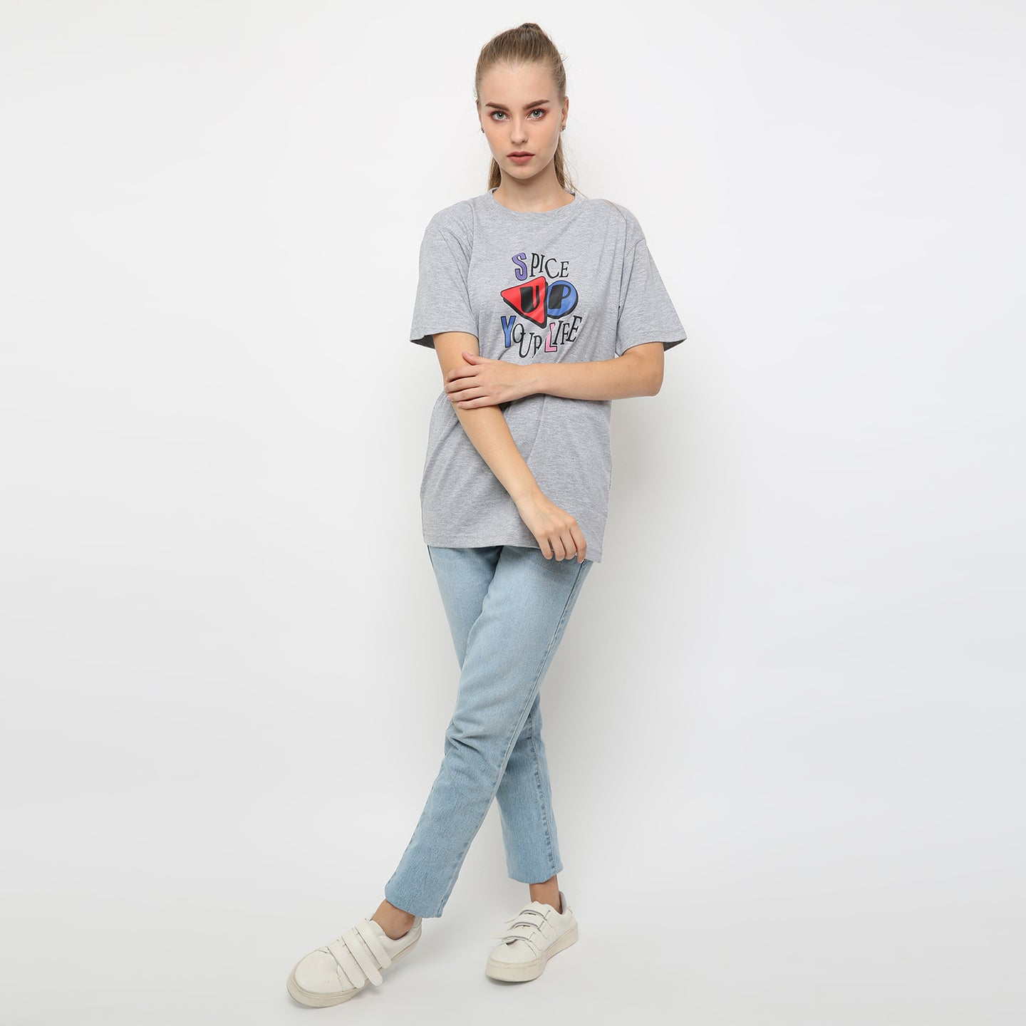 T-shirt Spice Up Shortsleeve Misty
