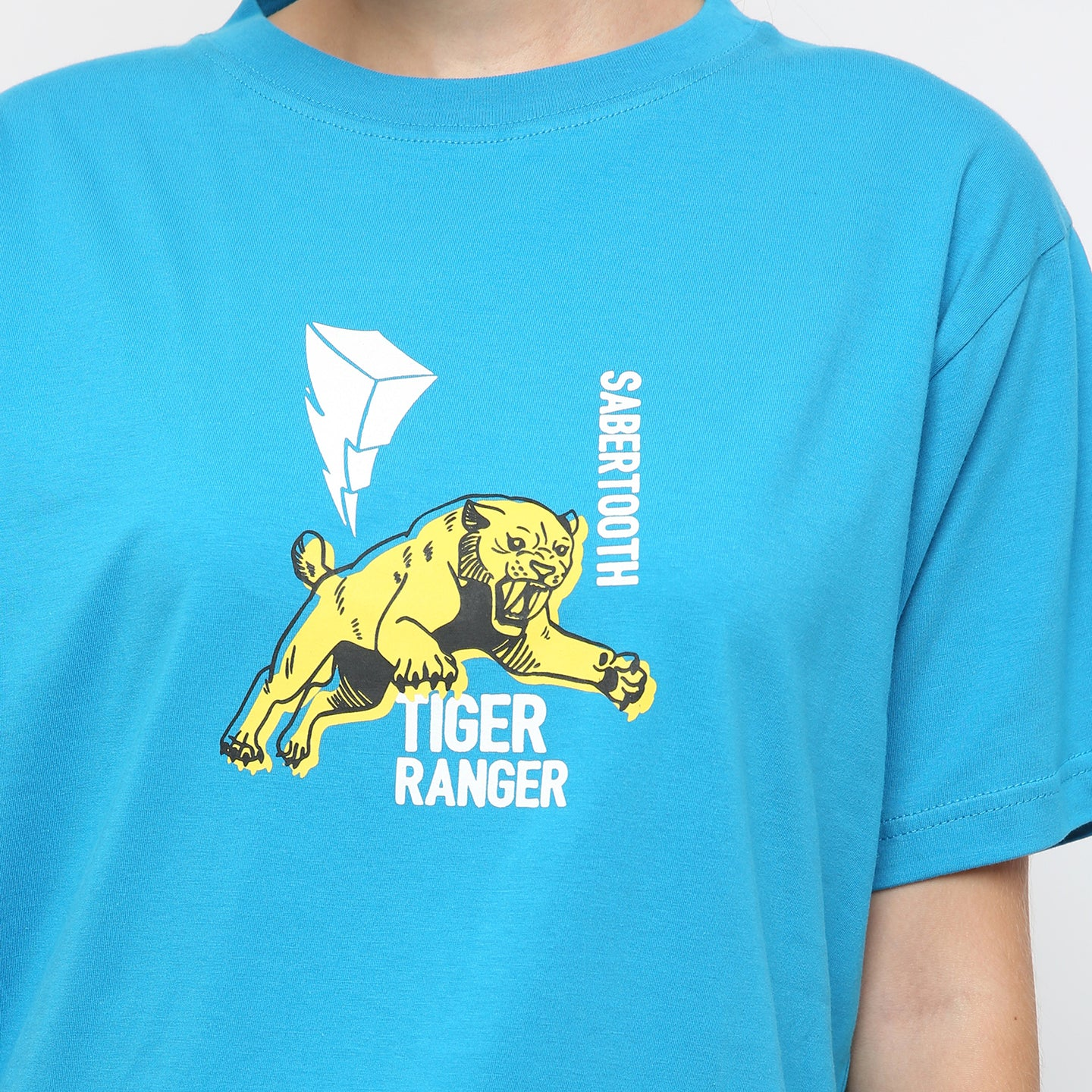 T-shirt Tiger Ranger Short Sleeve Blue