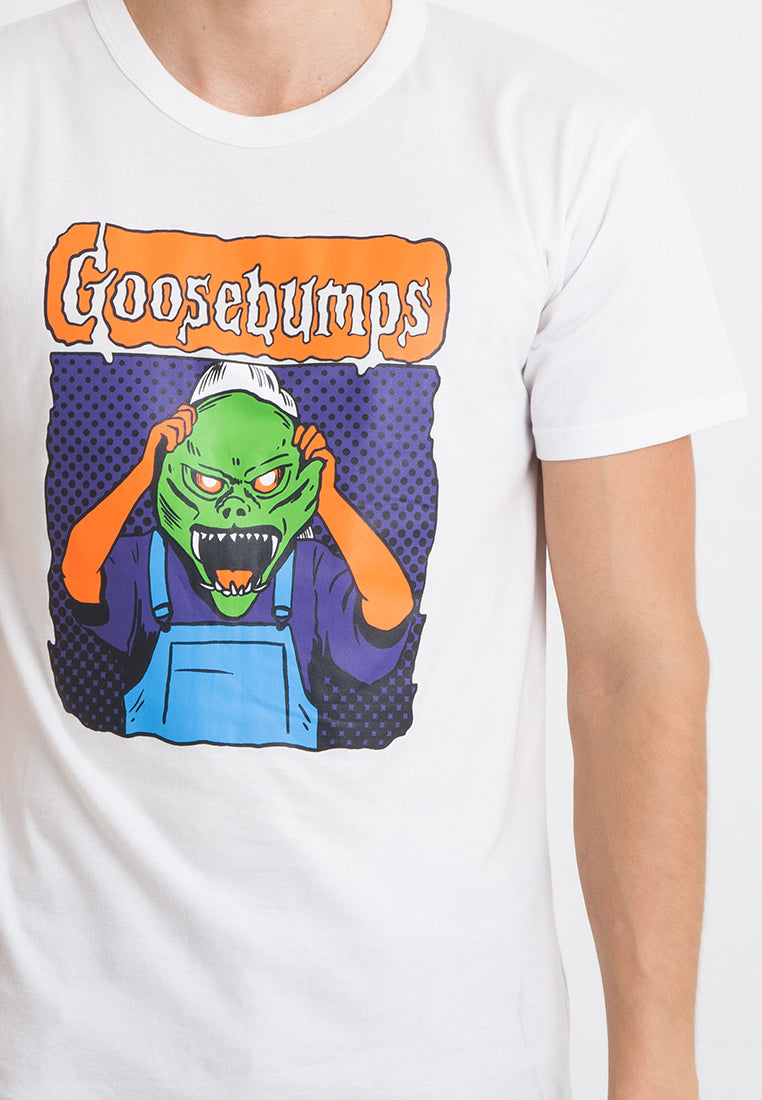 T-shirt Goosebumps Short Sleeve White