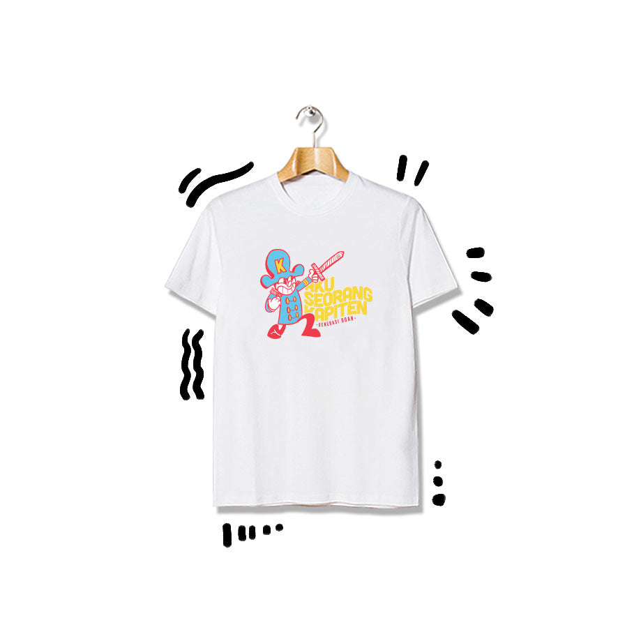 T-shirt Kapiten Shortsleeve White