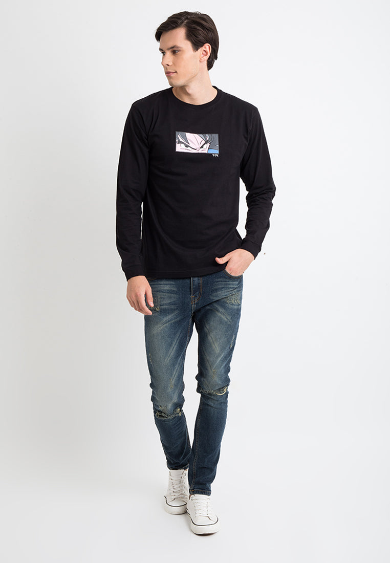 T-shirt New Goku Longsleeve Black