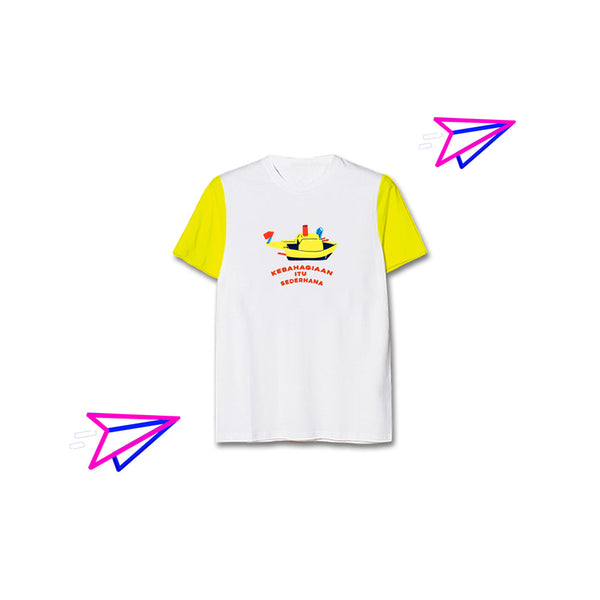 T-shirt Otok-Otok Shortsleeve White