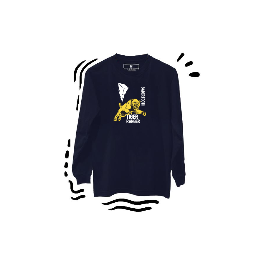 T-shirt Tiger Ranger Long Sleeve Navy