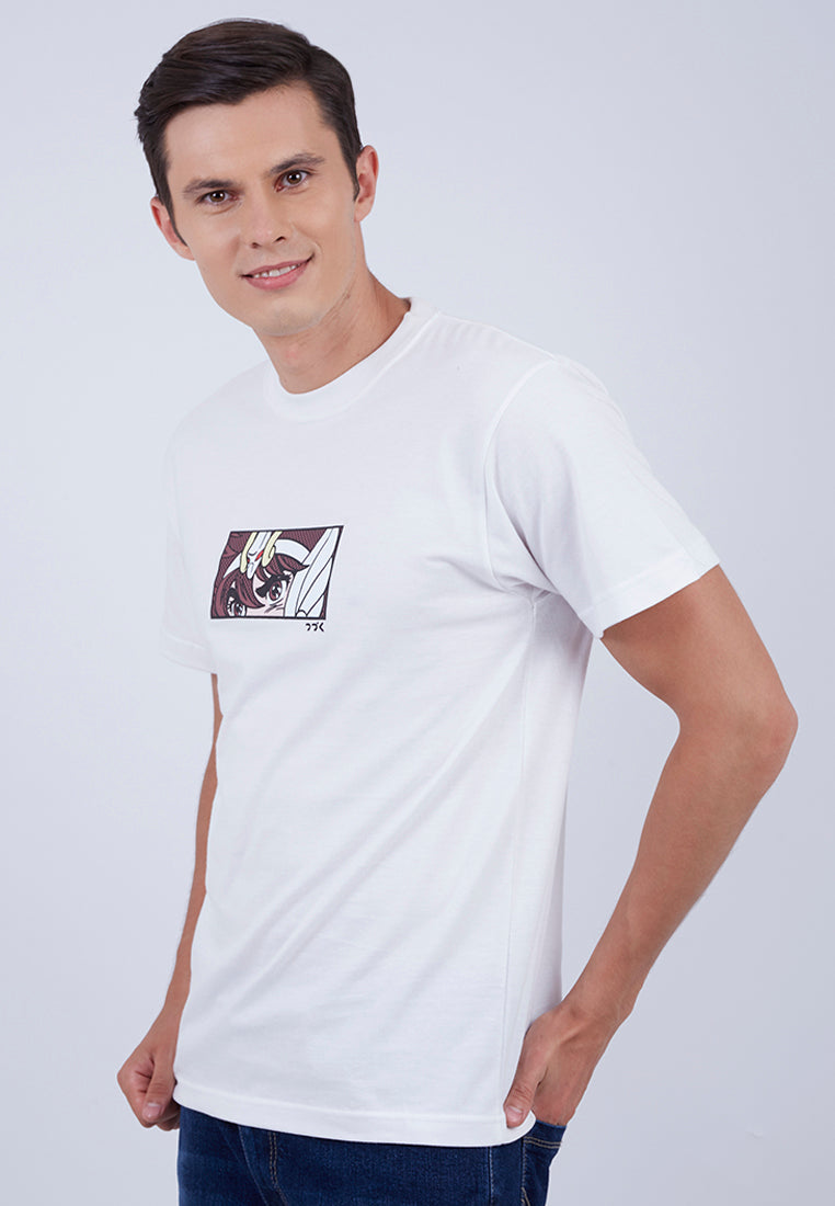 T-shirt Saint Seiya Shortsleeve White