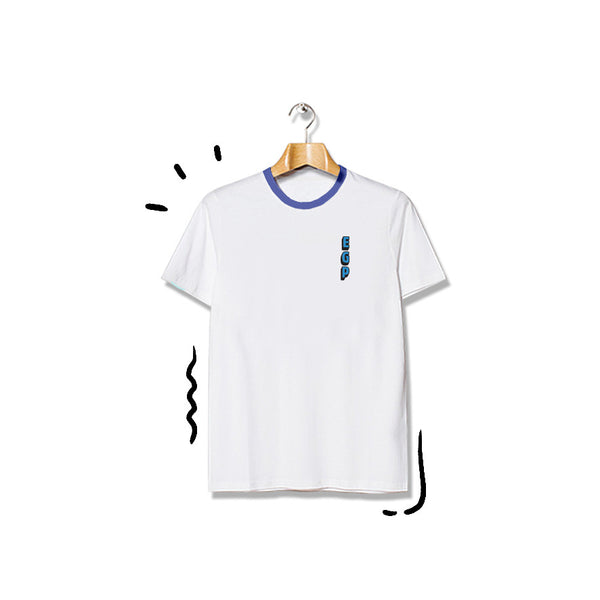 T-shirt EGP Short Sleeve White