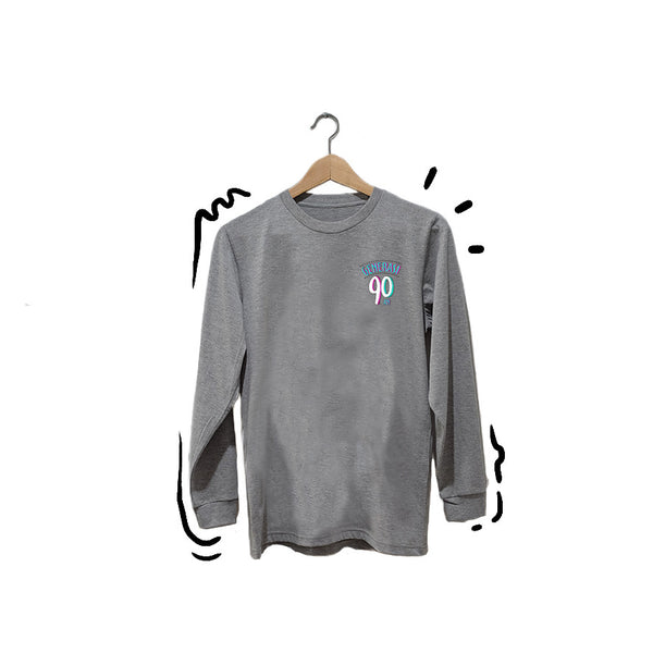 T-shirt New Logo Long Sleeve Grey